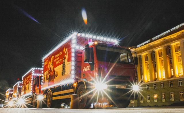 """Рождественский караван"" Coca-Cola"