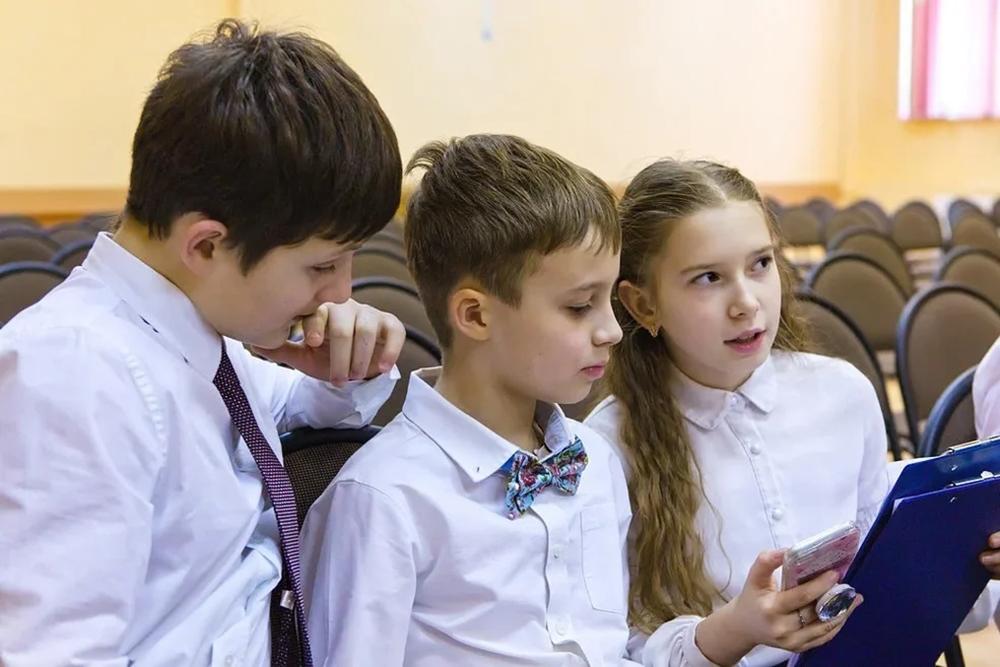 Волонтёры из гимназии «Флагман» готовятся представить свой проект