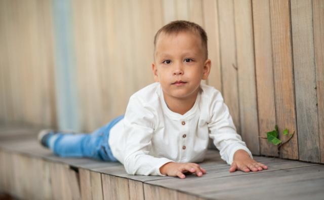 Thumbnail for - Юлиан Сенцов, 6 лет, последствия перинатального поражения ЦНС, ДЦП, Краснодар