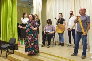 Инклюзивный квест «День индейца» в московском ДК «Темп»
